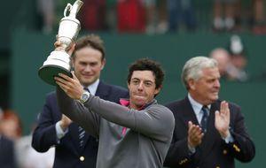 Sergio García reacciona tarde y McIlroy conquista el British Open