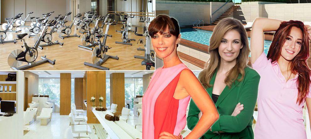 Foto: Un gimnasio solo para mujeres (muy famosas)