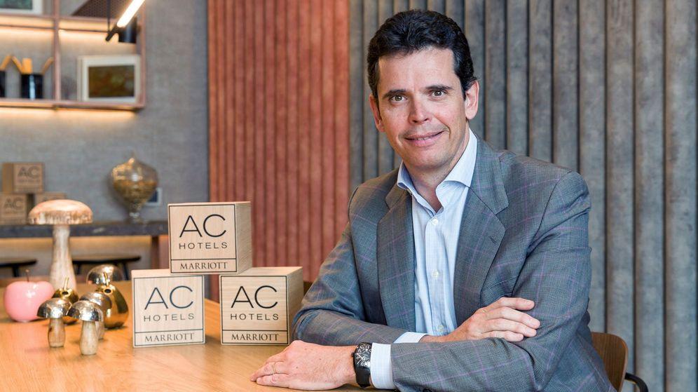Foto: Carlos Catalán, vicepresidente de AC Hotels. (EFE)