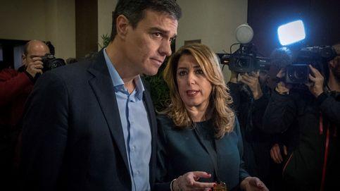 El 'sándwich' de Pedro Sánchez a Susana Díaz: aislada y con Celis de 'contrapoder'