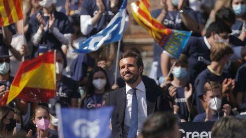 Casado avanza la derogación de todas las leyes de Sánchez y se lanza a asfixiar a Vox