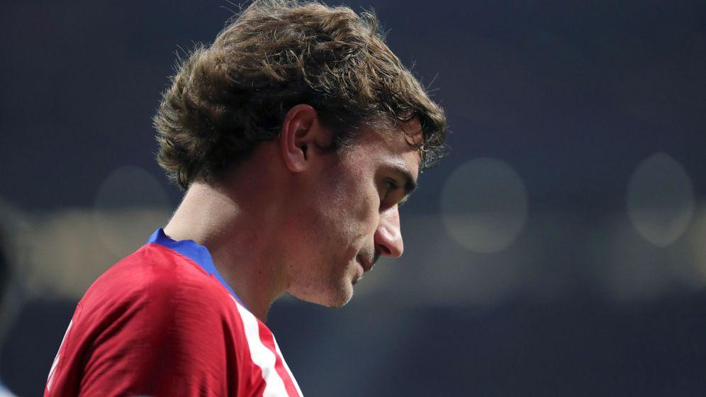 Foto: Antoine Griezmann, durante un encuentro del Atlético de Madrid. (EFE)