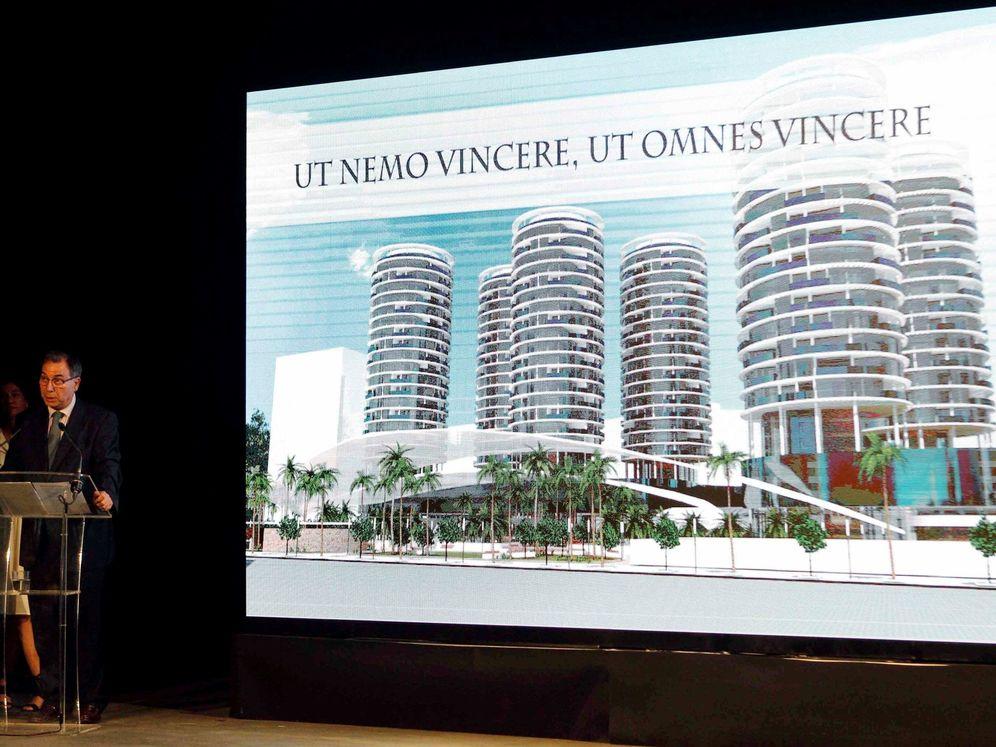 Foto: Presentación del proyecto urbanístico para el nuevo Mestalla