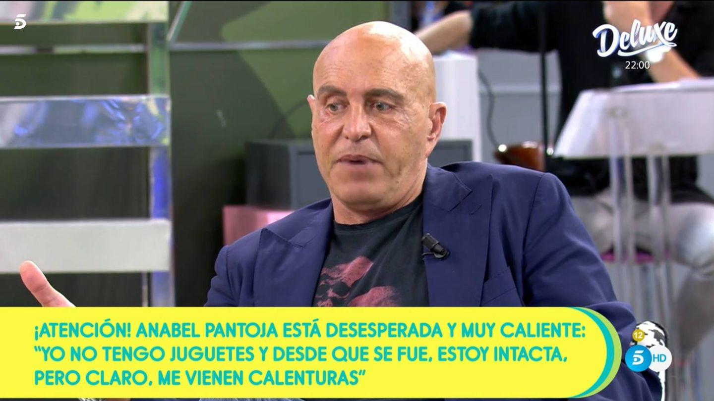 Kiko Matamoros, en 'Sálvame'. (Mediaset)