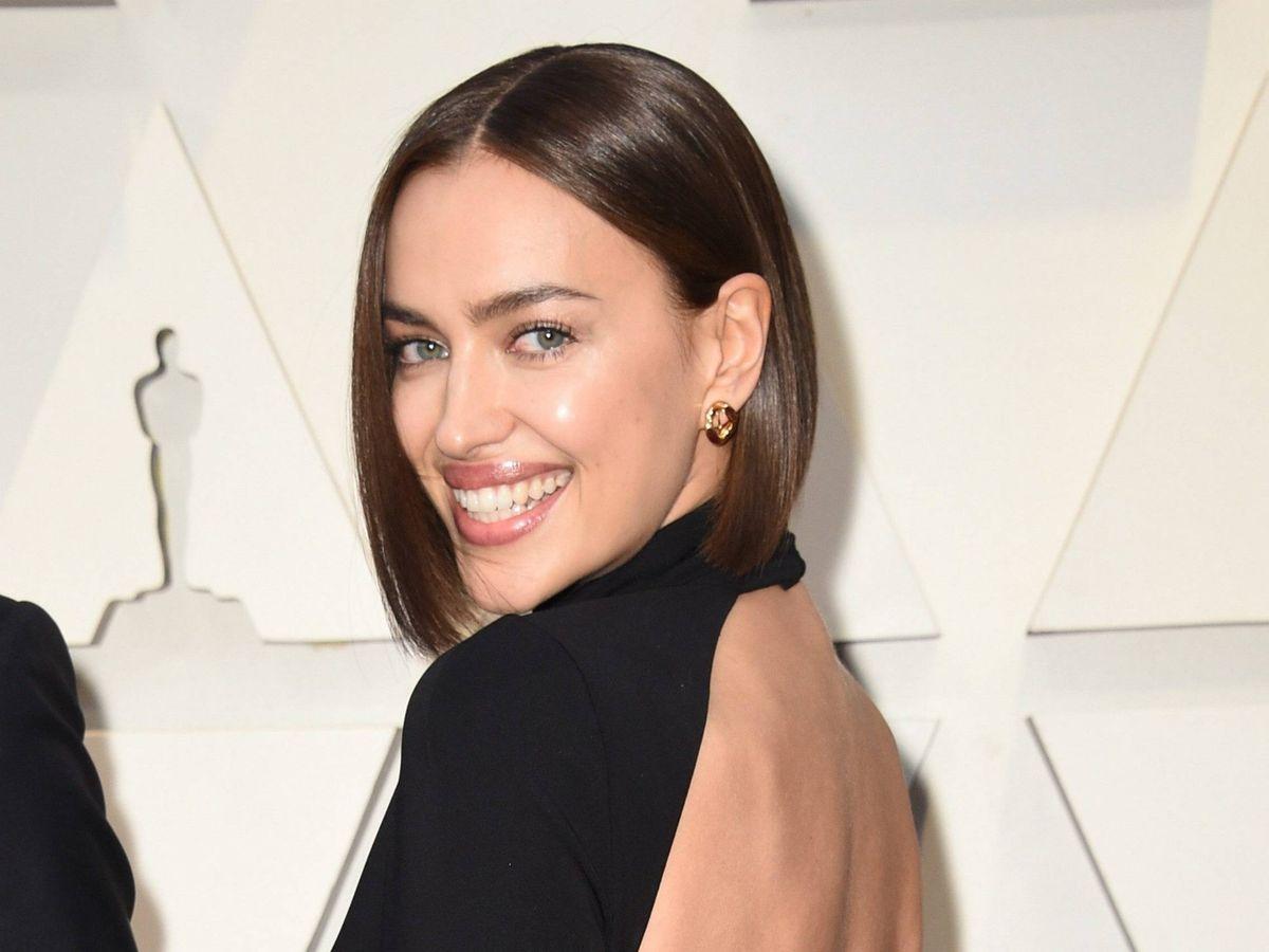 Foto: Irina Shayk, en la edición de los Oscar de este año. (Cordon Press)