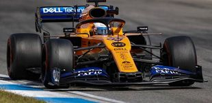 Post de Resultado Libres 1: Carlos Sainz acaba con problemas y en Mercedes saltan las alarmas