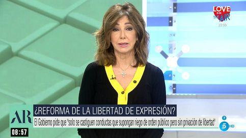 Ana Rosa arremete duramente contra Pablo Iglesias en defensa de España