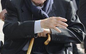 Florentino y Butragueño apoyan a Di Stéfano tras el fallecimiento de su hija