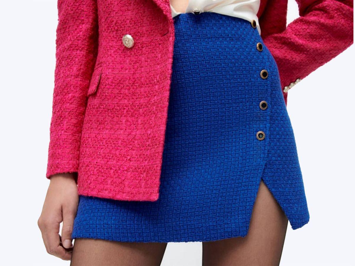 Foto: La nueva minifalda de Zara que es un diez de estilo. (Cortesía)