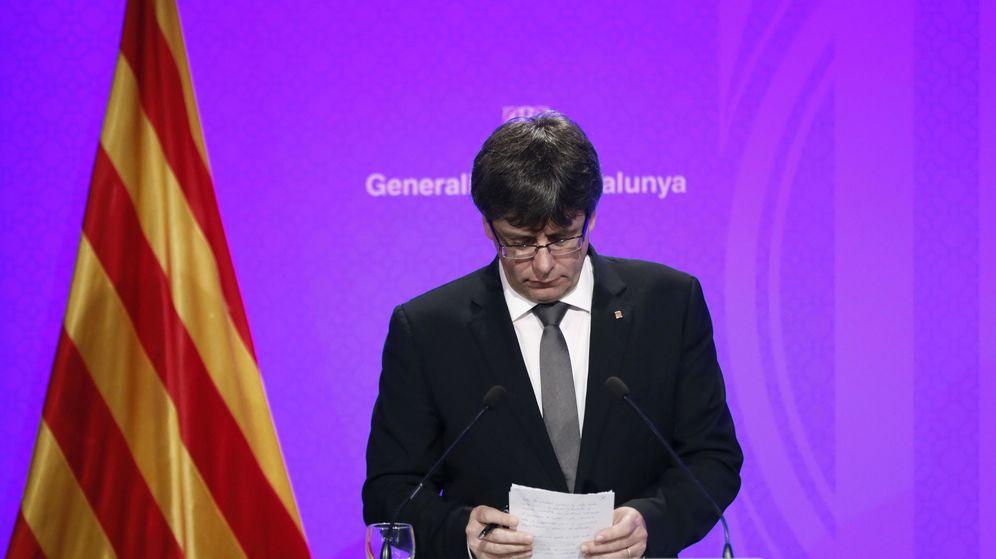 Foto: El presidente de la Generalitat de Cataluña, Carles Puigdemont. (EFE)
