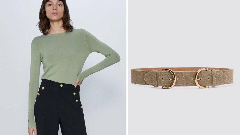 Jersey y cinturón de Zara. (Cortesía)