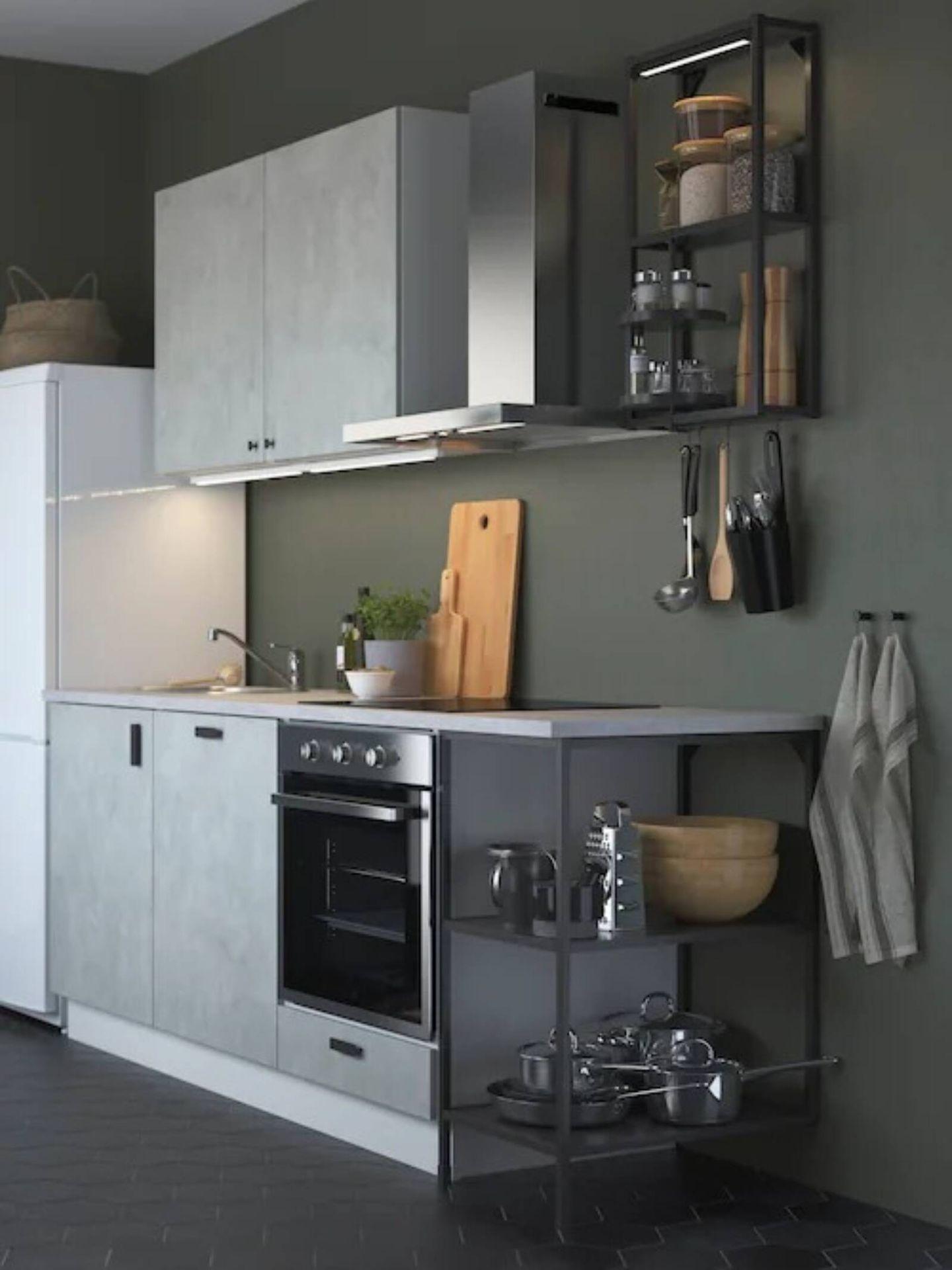 Ideas de Ikea para decorar una cocina pequeña y sacarle el mayor partido. (Cortesía)