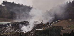 Post de Olor a plástico quemado y aire viciado: 11 días de fuego en el vertedero de Zaldibar