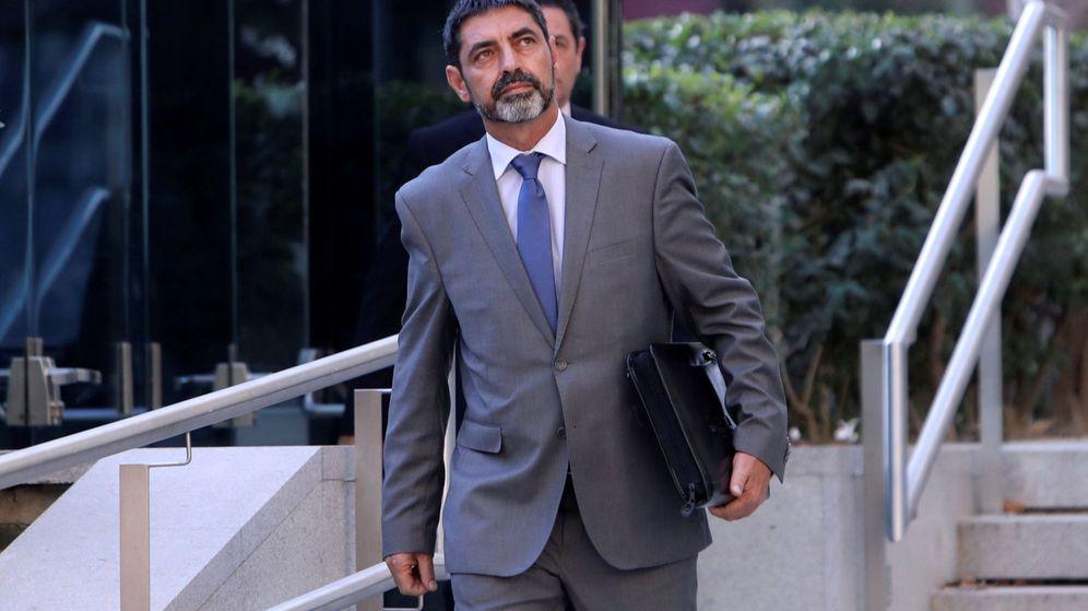 Foto: Trapero, durante su declaración en la Audiencia Nacional (EFE)