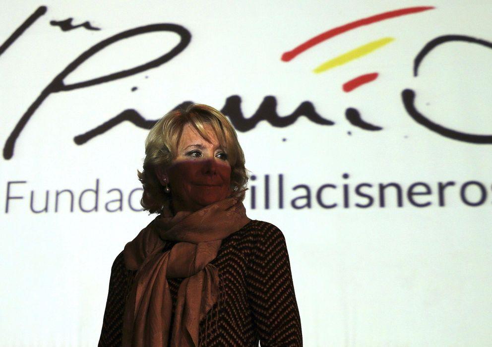 Foto: La presidenta del PP de Madrid, Esperanza Aguirre (EFE)