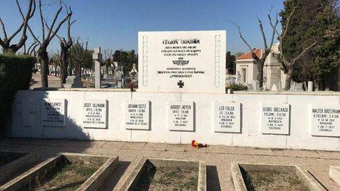 Guernica: Madrid retira un vestigio nazi de la Legión Cóndor de La Almudena