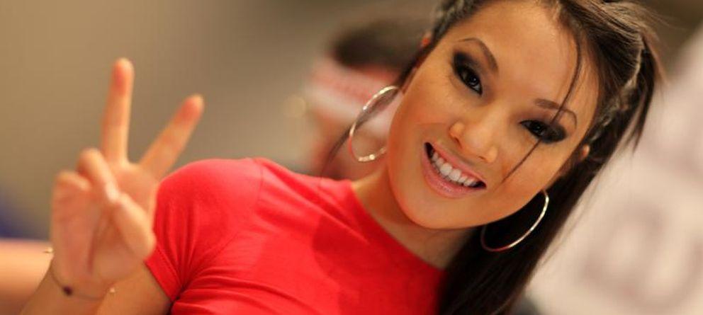 Foto: La actriz durante la exposición de AVN en Las Vegas que se celebró en 2012. (Michael Dorausch/CC)