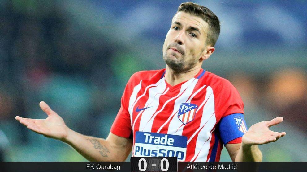 El Atlético de Madrid firma un tremendo ridículo en Azerbaiyán
