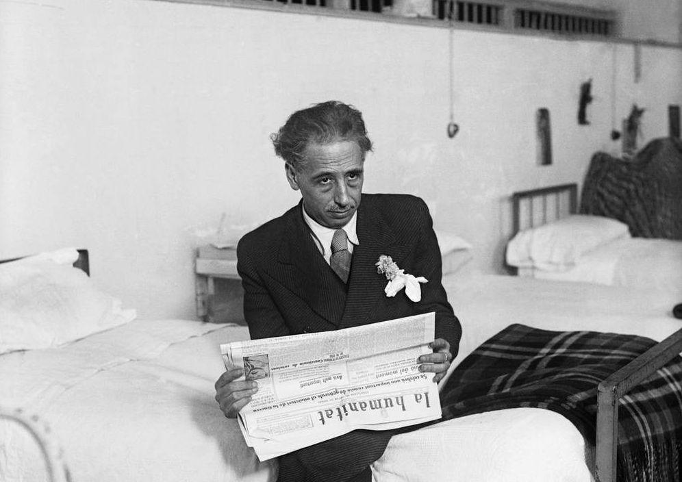 Foto: Lluís Companys espera juicio en la cárcel Modelo en 1935