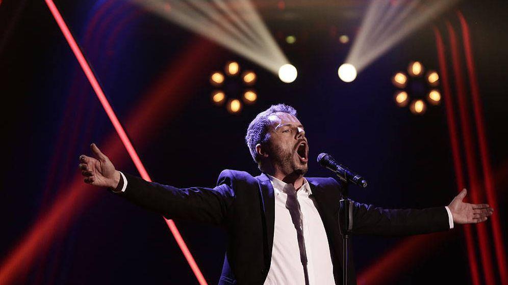 Foto: Ángel Cortés se convierte en finalista de 'La Voz'. (Antena 3)