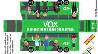 El autobús de VOX ni contamina ni hace ruido