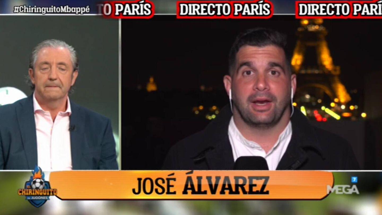 Pedrerol y José Álvarez. (Atresmedia).