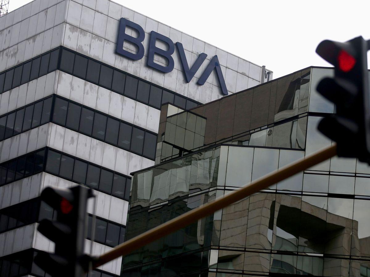 Foto: Logo de BBVA en Bogotá (Colombia). (Reuters)