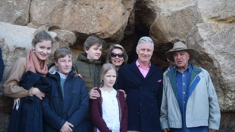 Así fueron las vacaciones privadas de la familia real belga en Egipto