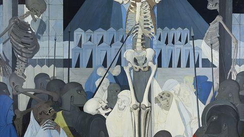 Putas, esqueletos y un prostíbulo de pintura