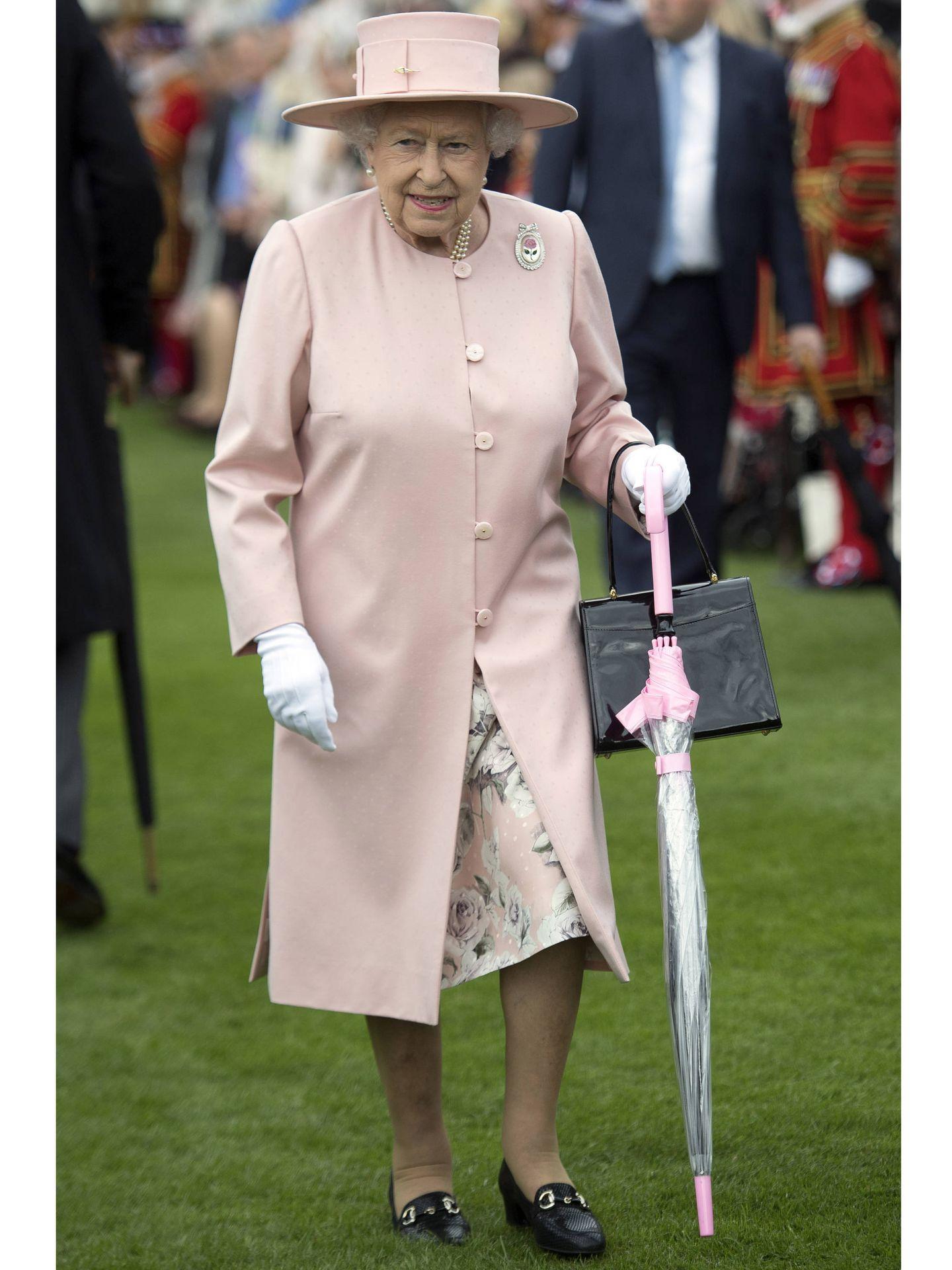 La reina Isabel II. (Getty)