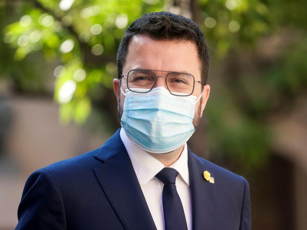 Foto: El presidente de la Generalitat, Pere Aragonès. (EFE)