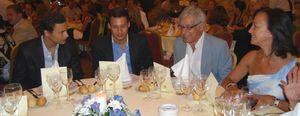 Foto: Rich, Hachuel y cien agentes del Mossad arropan al viceprimer ministro israelí en Marbella