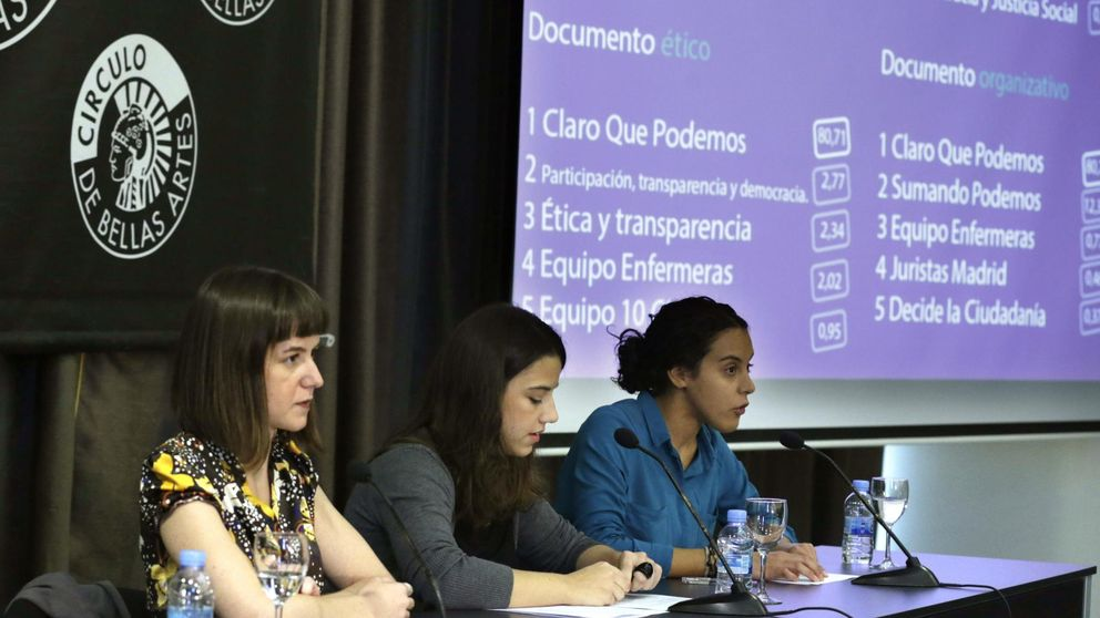 El sistema de afiliación y voto interno de Podemos es manipulable