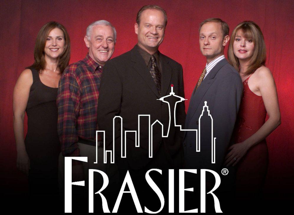 Foto: Personajes principales de 'Frasier', la serie destronada por 'Juego de Tronos' como la más premiada de los Emmy