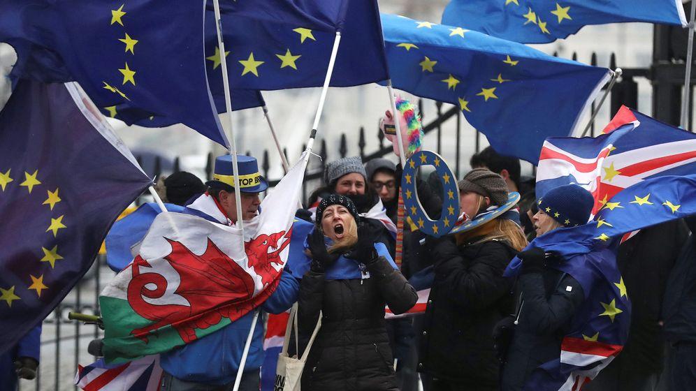 Foto: Protestas proeuropeas en Londres. (Reuters)