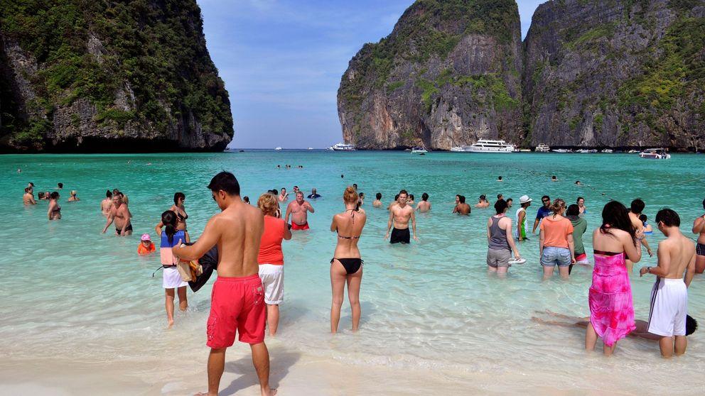 Se acabaron las fotos: Tailandia cierra la playa donde DiCaprio rodó 'The Beach'