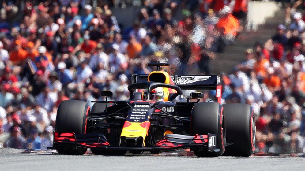 Foto: Verstappen se llevó una victoria con polémica en Austria. (Reuters)