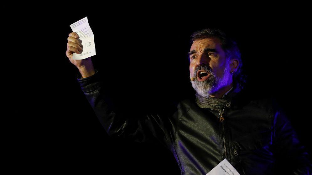 Foto: Jordi Cuixart, presidente de Òmnium Cultural (Reuters)