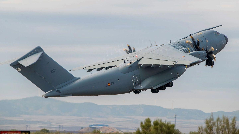Un avión de carga Airbus A400M. (EFE)