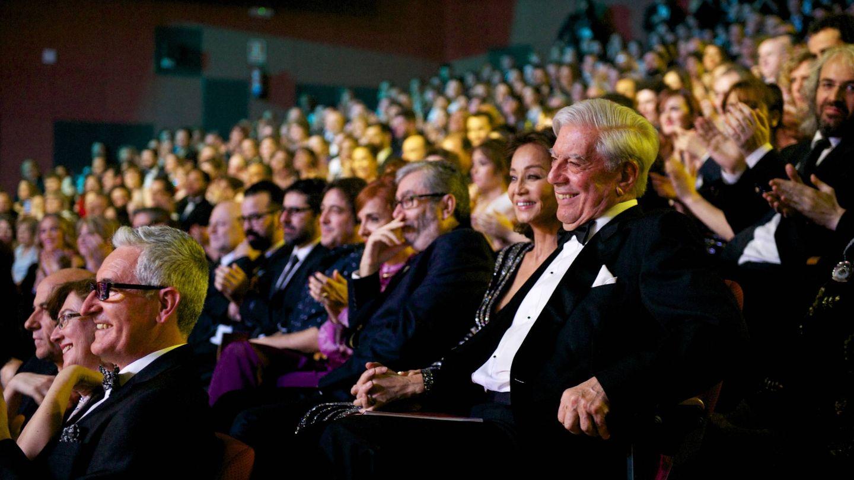 La pareja, en la gala de los Goya. (Getty)