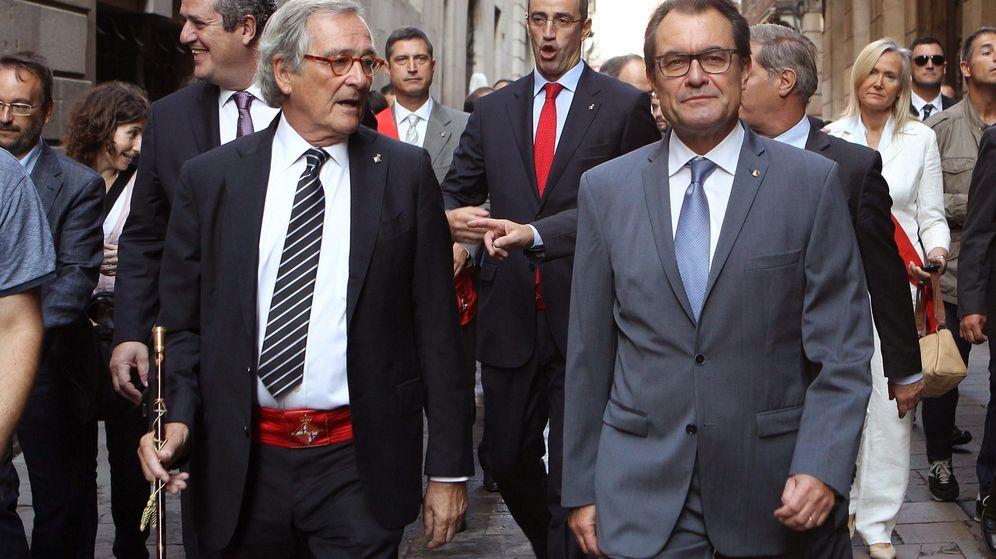Foto: El presidente de la Generalitat, Artur Mas (d), junto a Xavier Trias (i), alcalde de Barcelona (EFE)