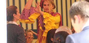 Post de Amalia de Holanda: baile, gazpacho y jamón con su familia en la Feria de Abril