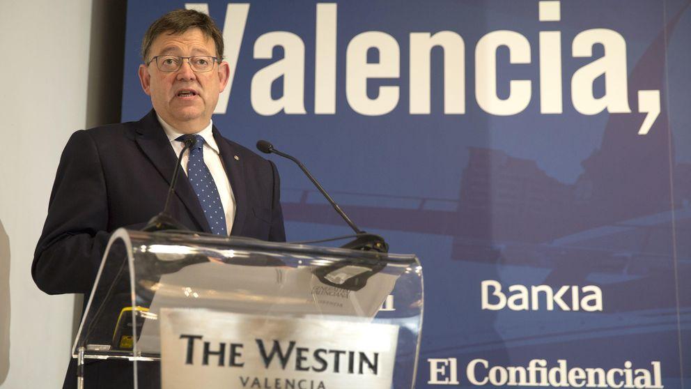 Puig tranquiliza a los empresarios: el cambio en Valencia es estabilidad