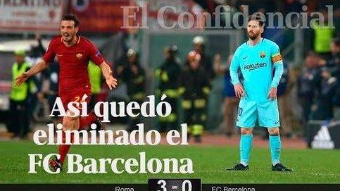 Roma-Barcelona: los culpables de un fracaso en la Champions