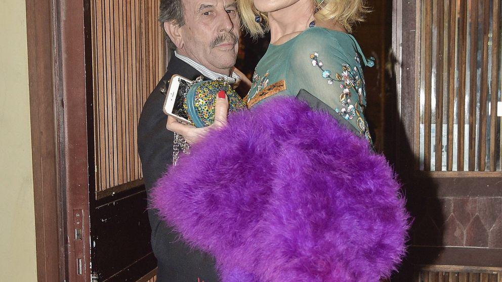 Loles León, Rossy de Palma y Vaquerizo se van de 'farra' con Bibiana Fernández por sus 63 años