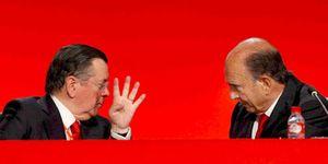 Foto: Santander recurrirá ante el Constitucional para mantener a Alfredo Sáenz en el cargo