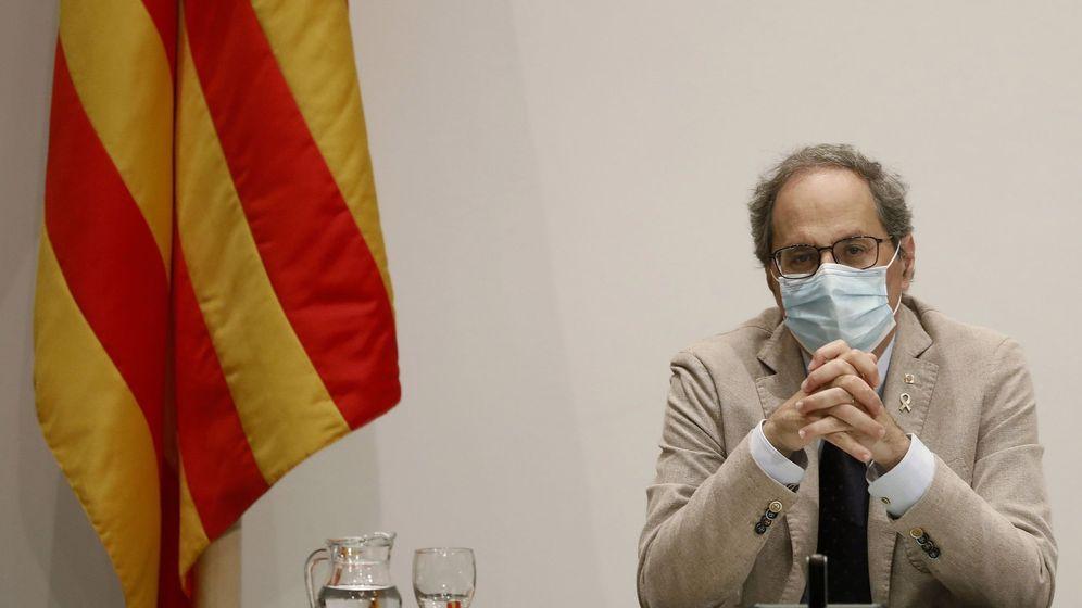 Foto: El presidente de la Generalitat, Quim Torra, hoy. (EFE)