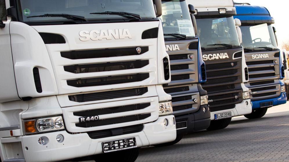 Foto: Scania fue sancionado con 880 millones de euros por participar en el 'cártel de los camiones'. (Reuters)