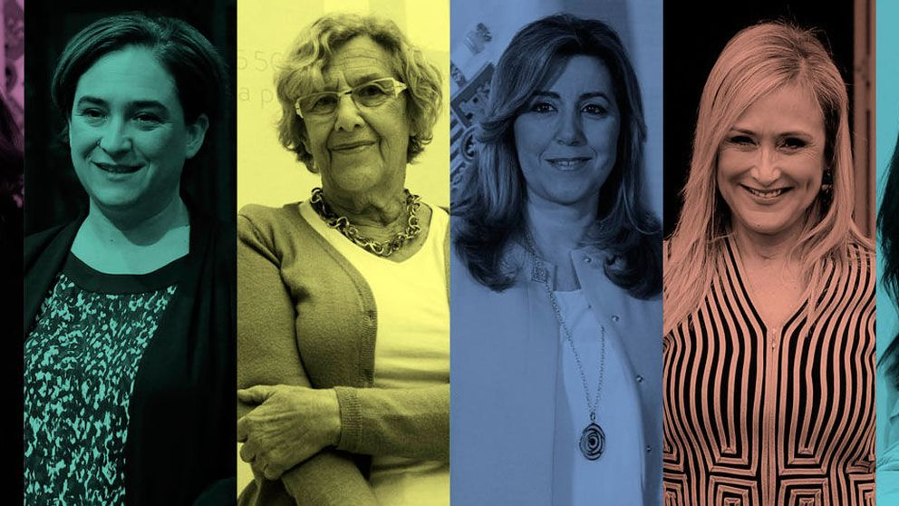 Soraya, Colau, Susana Díaz, Carmena, Cifuentes y Arrimadas: en 2016 el poder será de ellas