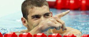 Phelps gana su primera medalla de oro en Pekín y bate el récord mundial